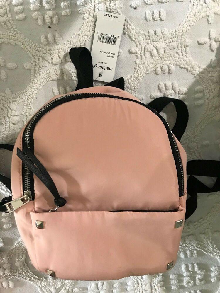 84cd2abe410578 Backpack Mini Bag Madden Girl Blush color msrp $58 MG-2090 #MaddenGirl # Backpack