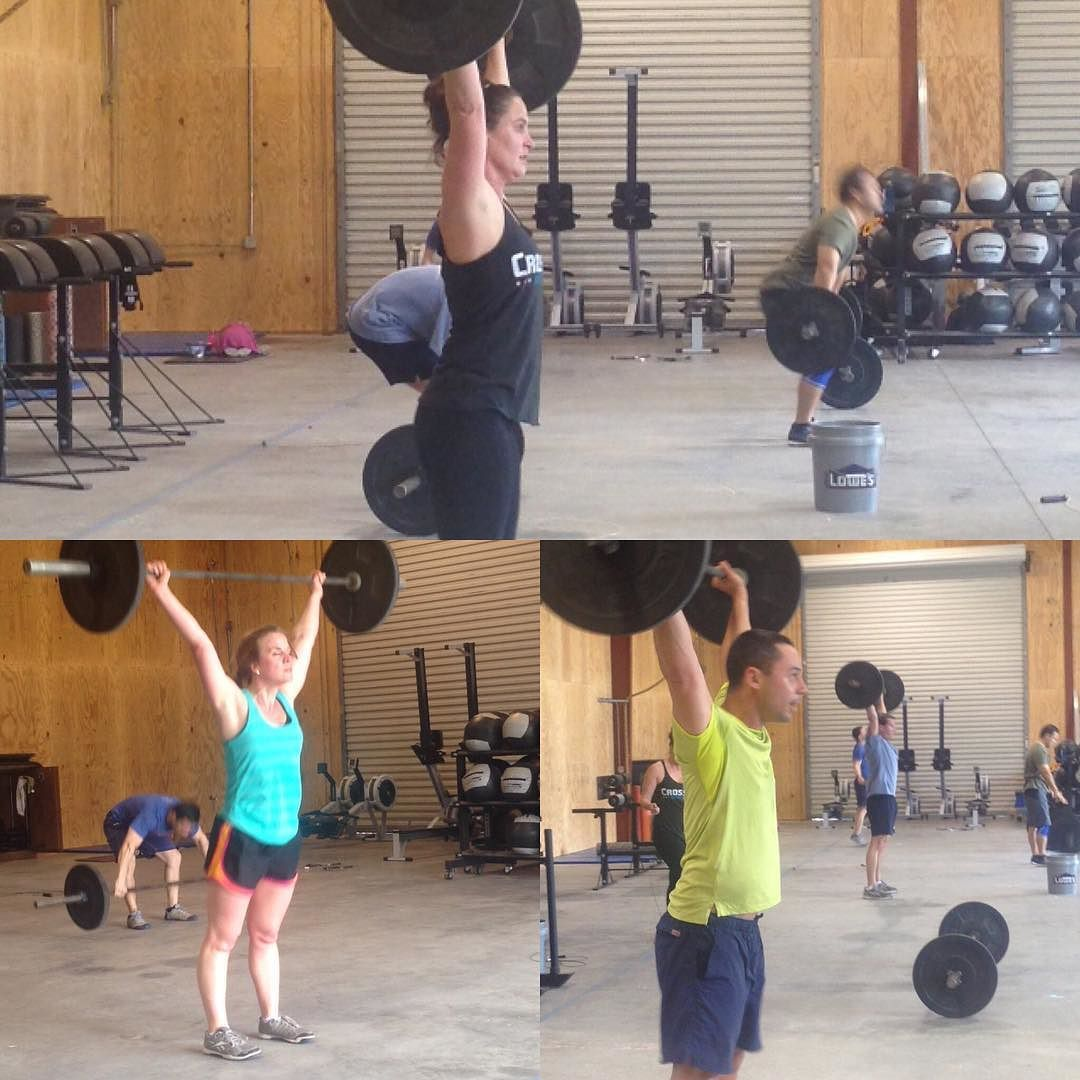 Prepping for the first Open WOD! crossfitwando cfgames