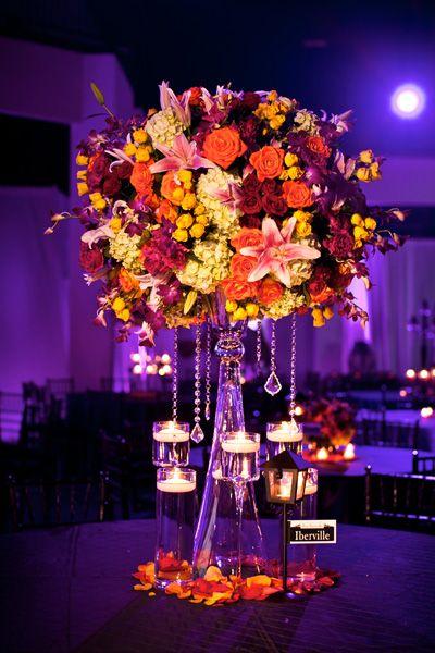 Wedding Ideas by Color: Orange | Orange wedding colors, 50th and ...