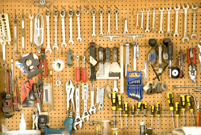 Simple Tips To Organize Your Garage My Life And Kids Garage Organization Garage Tool Storage Garage Tool Organization