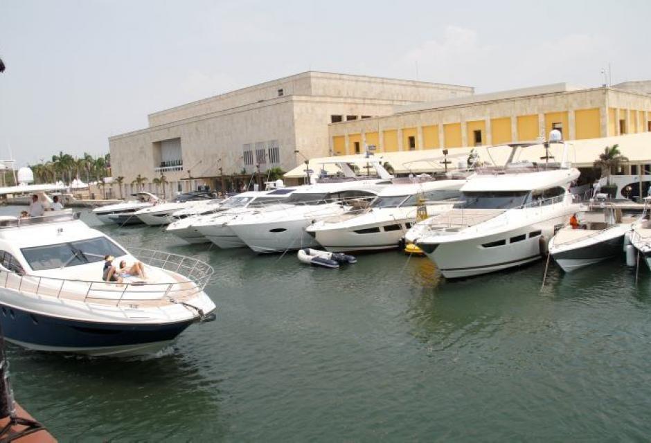 El evento que reune a los expertos en botes empezó hoy en Cartagena ...