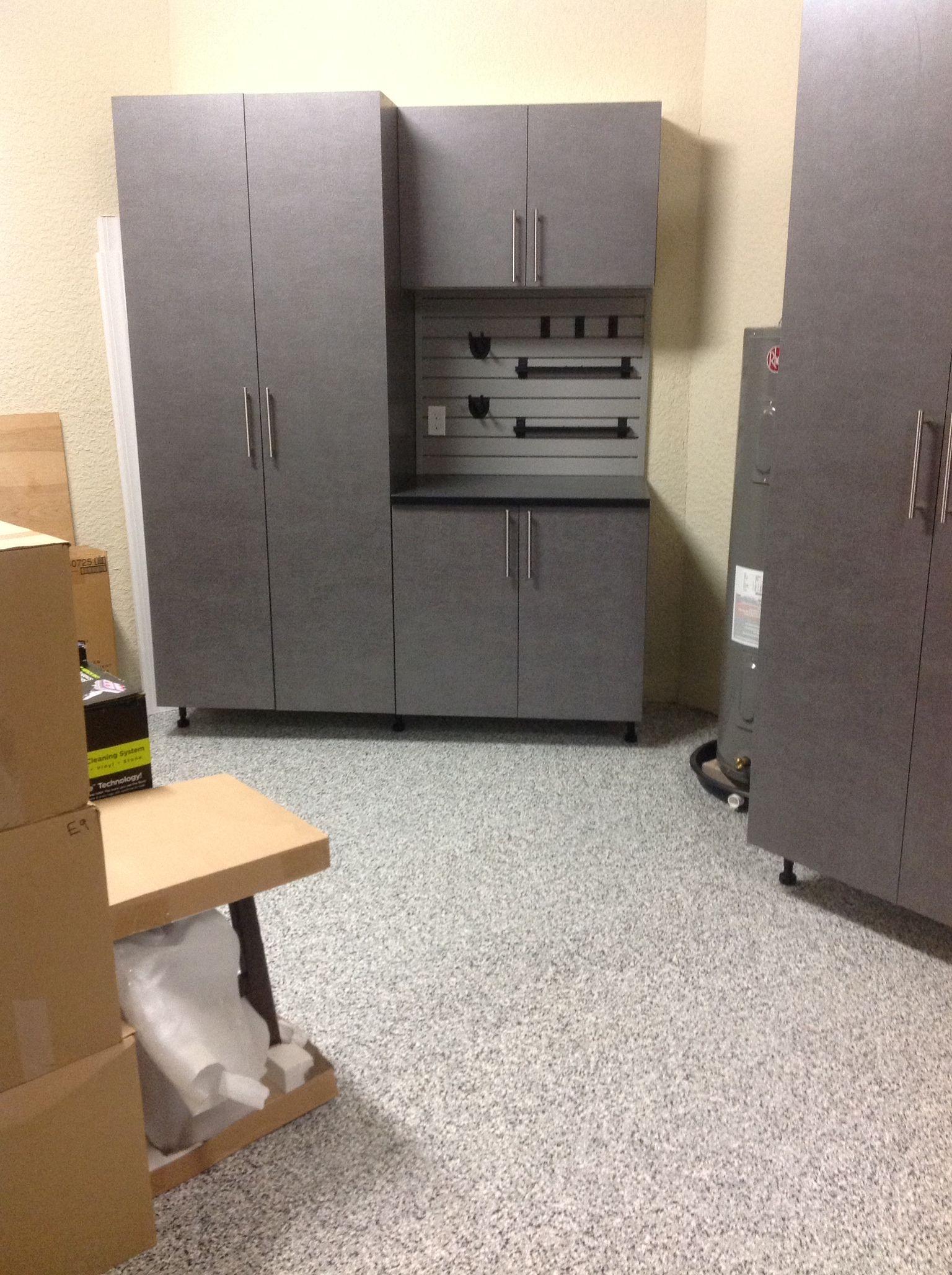 Casseletto   Riverstone Naples, FL Garage Cabinet Storage