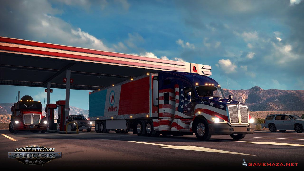 American Truck Simulator Free Download With Images American