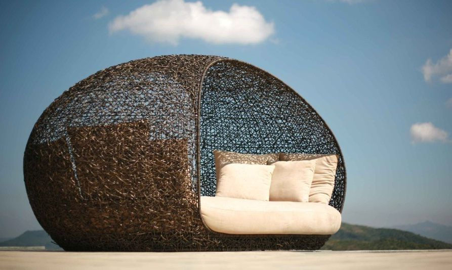 Nest Bed Contemporary Outdoor Furniture Asian Outdoor Furniture