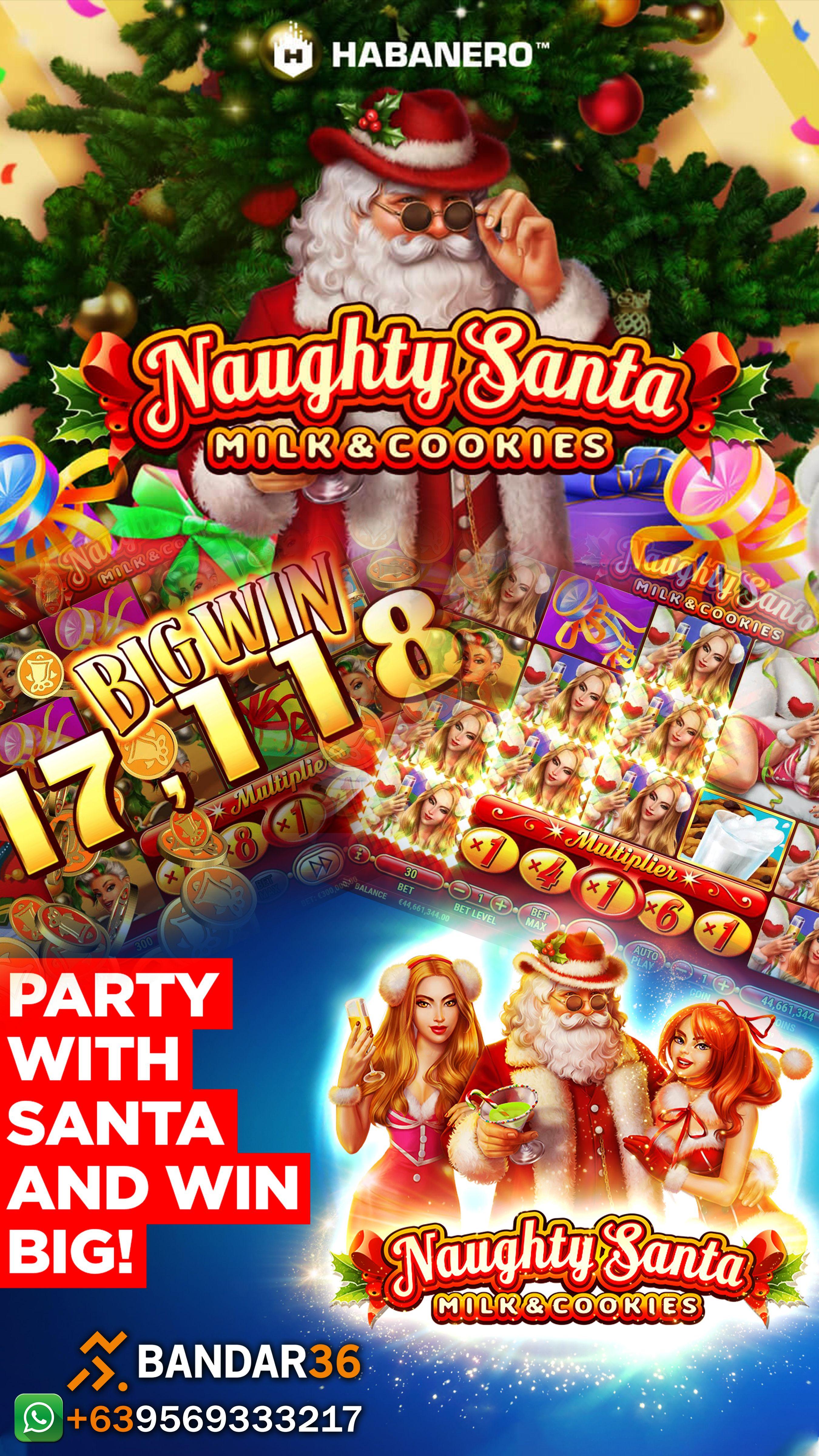 Naughty Santa adalah salah satu game dari HABANERO