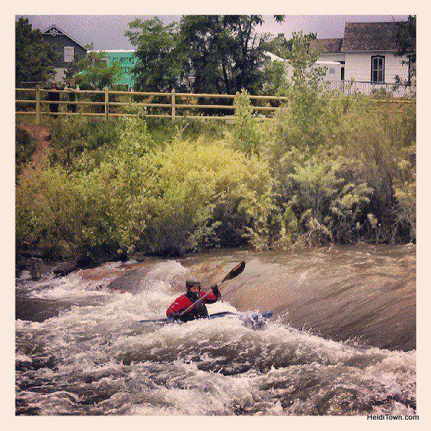 Denver Kayaking: Golden, Colorado In Instagram Photos