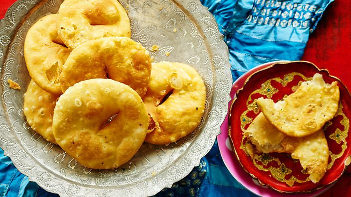 Salted fritters (mathi) recipe : SBS Food