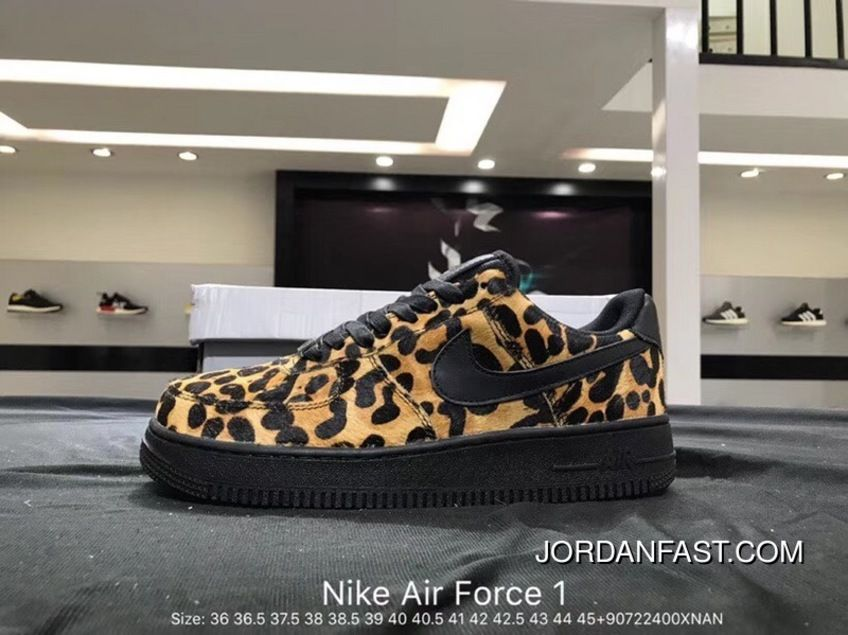 save off 9aeb0 064a2 Nike Air Force 1 AF1 WMNS Air Force 1 LX Women Men Yellow Leopard Top Deals