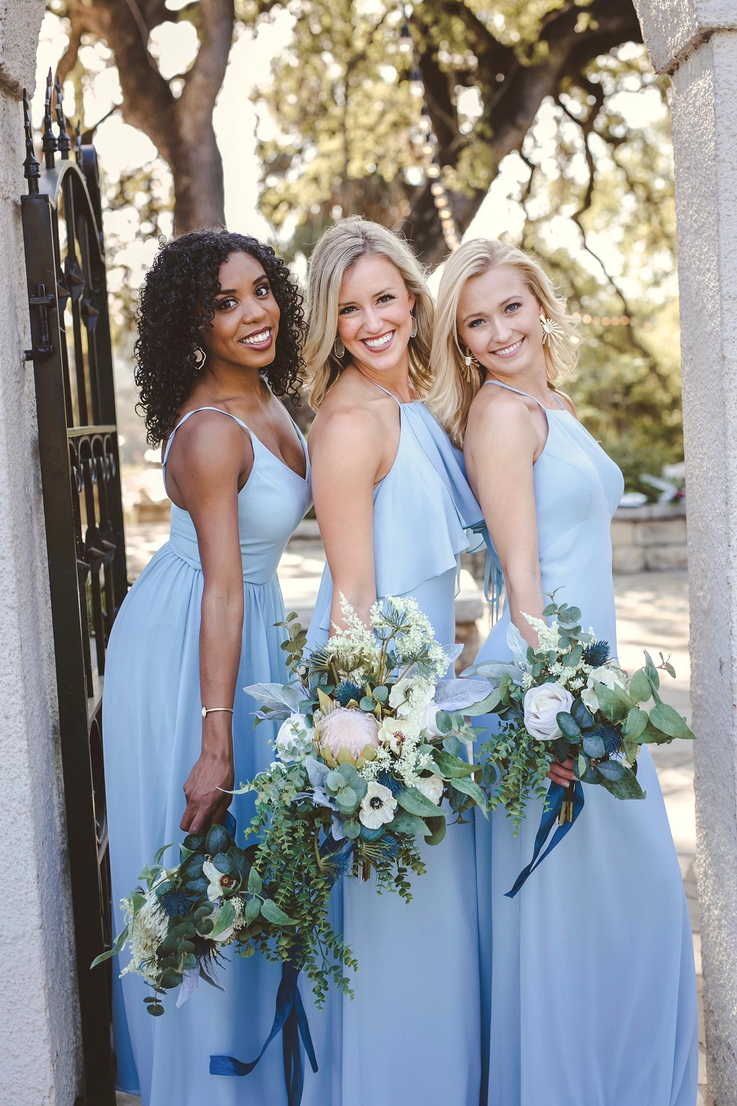 6a14629de95 These stylish summer bridesmaid dresses from the 2018 Revelry collection  get a standing ovation!  bridesmaiddresses  bridesmaidfashion  bridetribe  ...