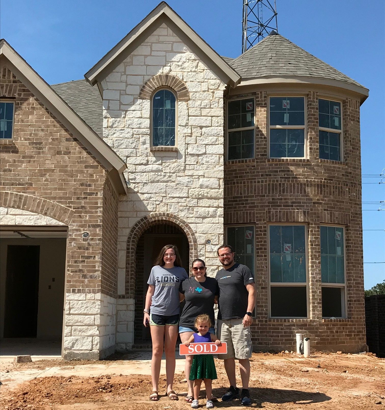 Congratulations To This Sweet Family Jason Heather And Young Ones They Were Looking For A New Home With More Room New Homes For Sale New Homes Model Homes