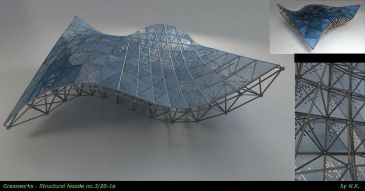List 5 05ot Persp1a Space Frame Architecture Pinterest