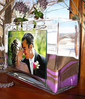 Another Option Since The Shadow Box Is Backordered Until August Unity Sand Photo Vase