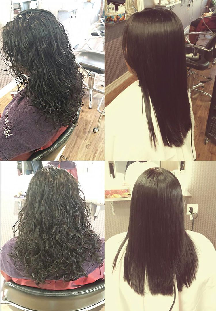 Straight perm didnt work - Sample Pictures Of The Customer Who Had Japanese Straight Perm At Momo Hair Salon In Toronto