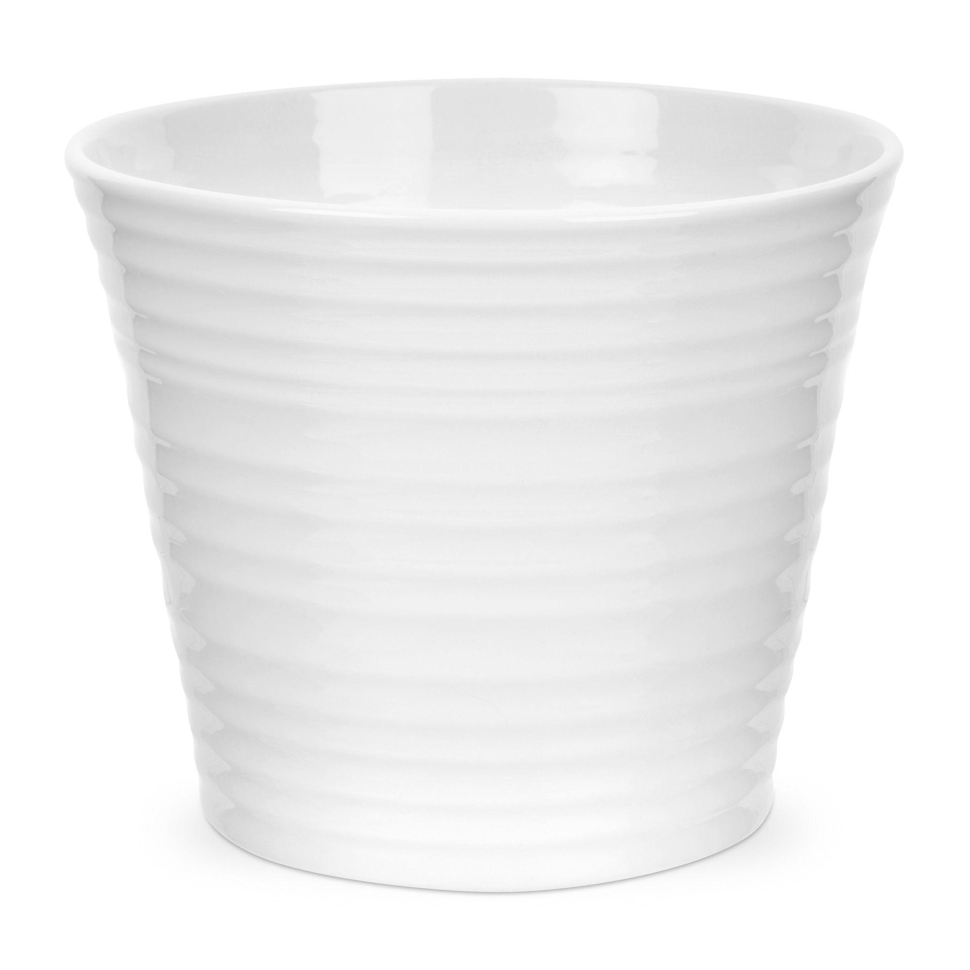 Portmeirion Sophie Conran White Round Flower Pot Planter Reviews