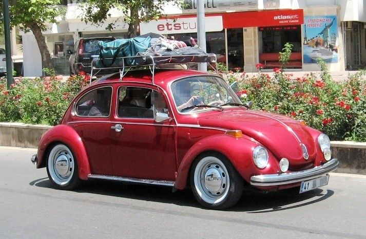Red ridervw beetle white wall tires roof rackhttpclassic red ridervw beetle white wall tires roof rackhttp publicscrutiny Image collections