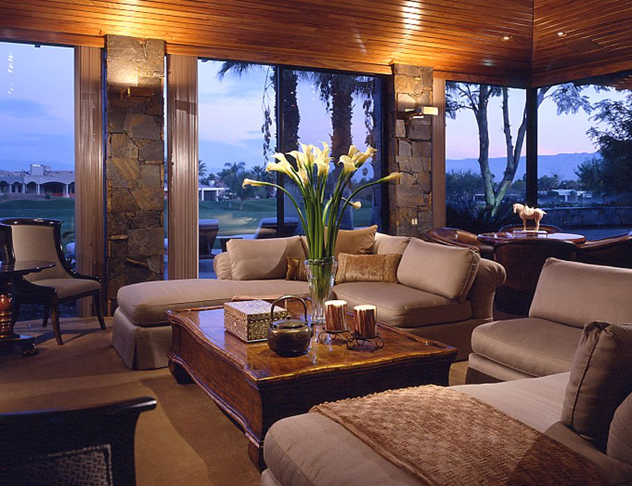 Asian Design Living Room Extraordinary Interior Design Contemporary Asian Palm Desert Ca  Home Decorating Design