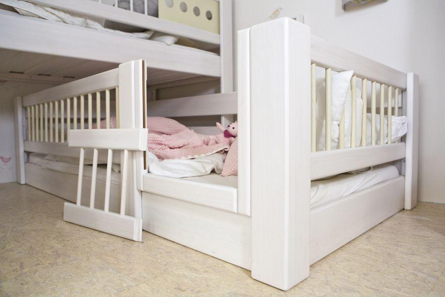 Betteinstieg aus KrabblerAugenhöhe Kinder zimmer