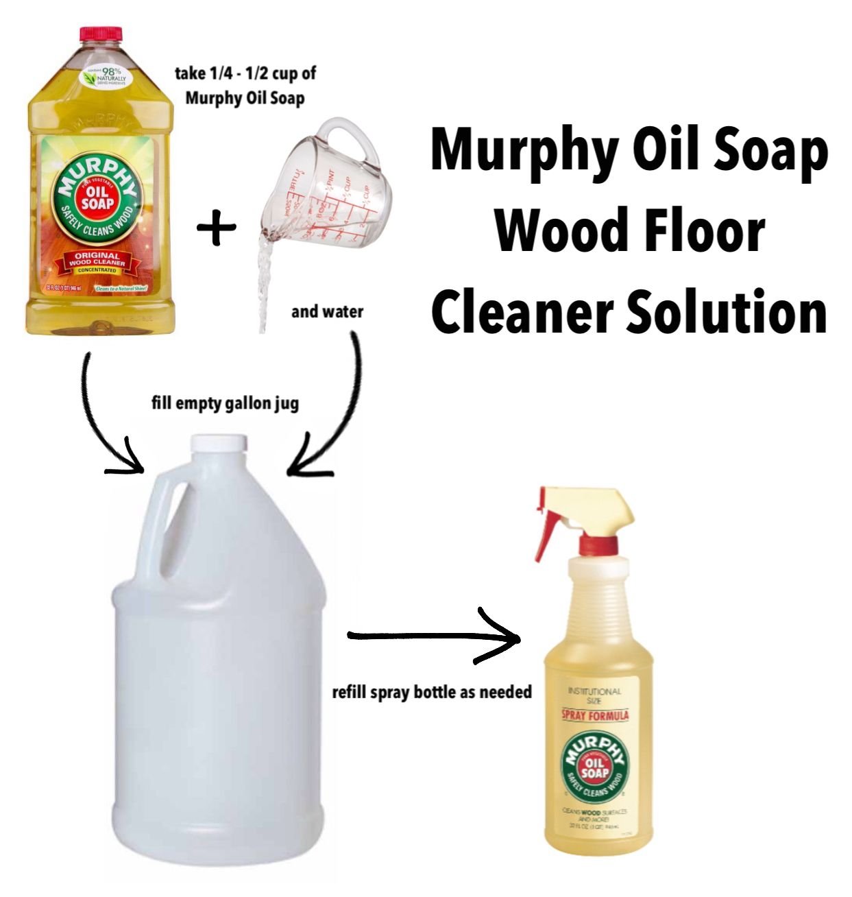 Cleaning hardwood floors with murphy oil soap -  Murphy Oil Soap Wood Floor Cleaner Solution
