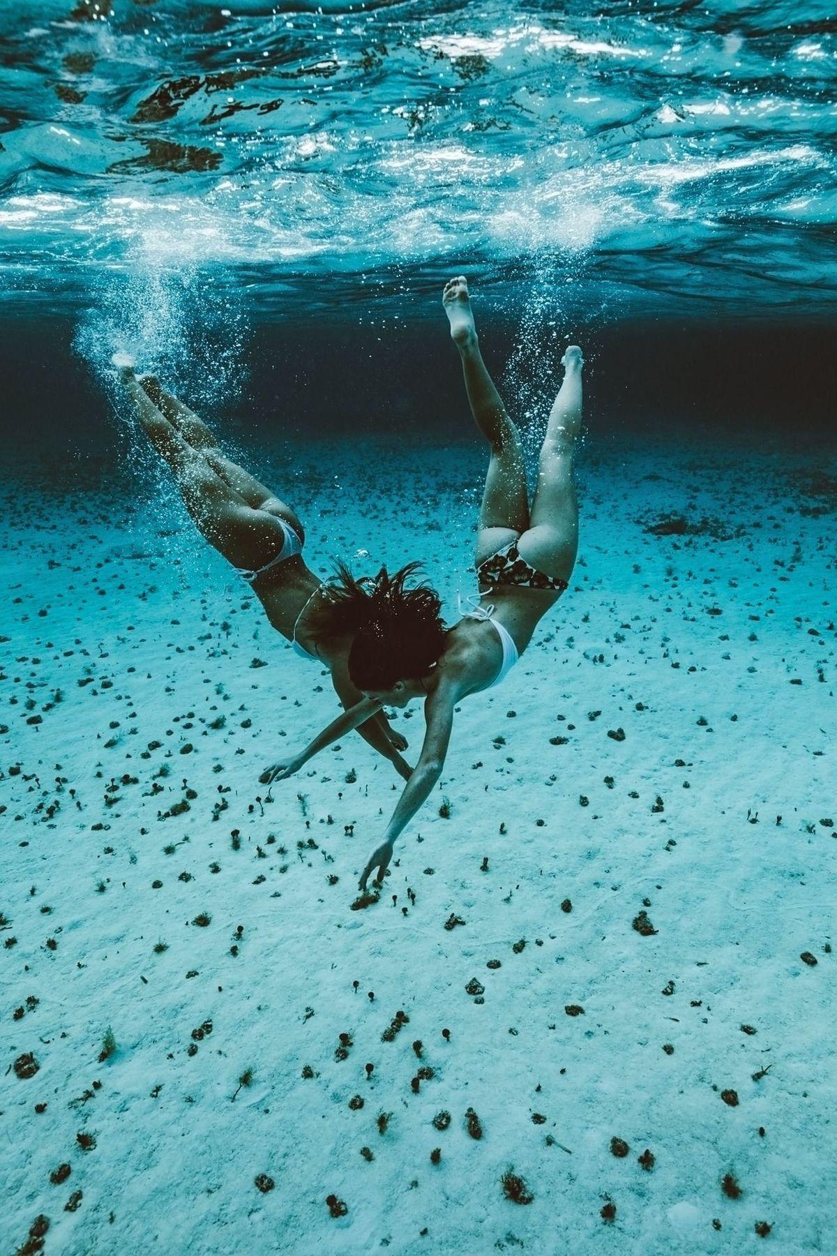 Increíbles fotos bajo el agua de Micah. - Las Mejores