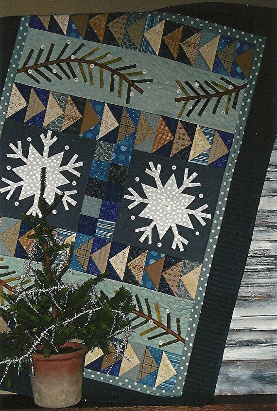 32 Quot X 47 Quot Designed By Quot Joined At The Hip Quot Winter Quilts