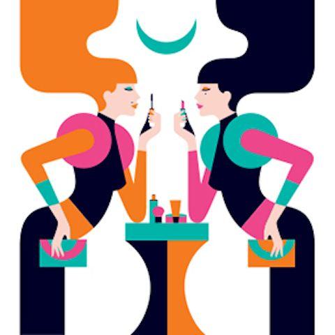 geminis Los signos del zodiaco ilustrados con un estilo fashion