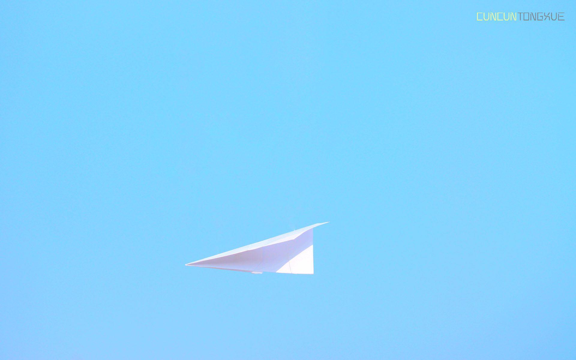 Minimal Paper plane Check more at http://hdwallpaperfx.com/minimal-paper-plane/