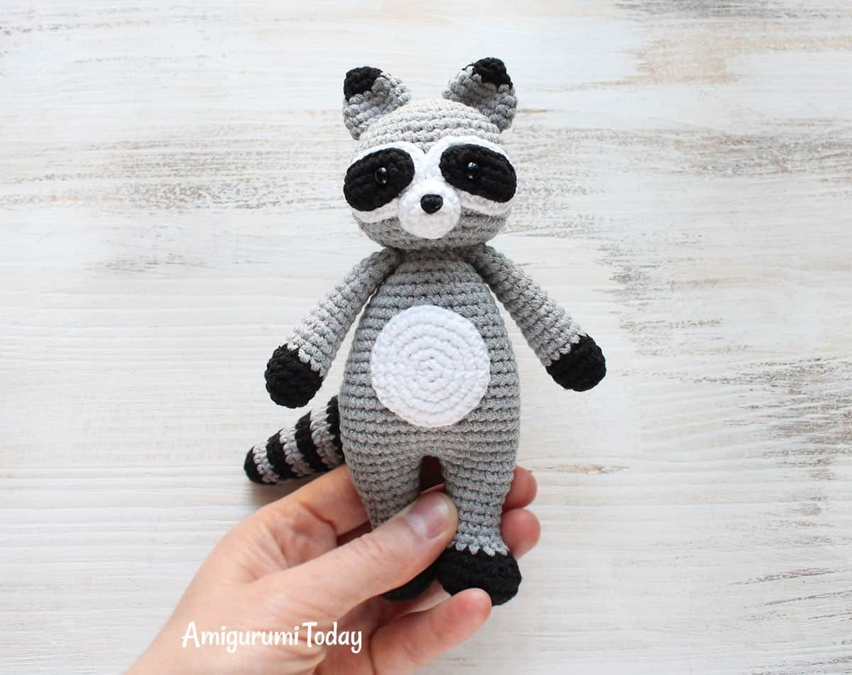 Cuddle Me Raccoon Amigurumi - Patrón de ganchillo gratis ...