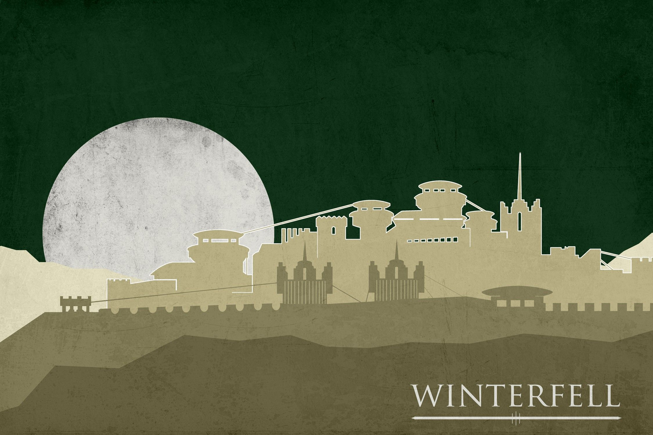 Fantasy Art Game Of Thrones A Song Of Ice And Fire Winterfell Hbo