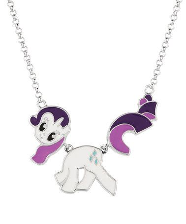 Another great find on zulily silver rarity necklace by my little silver rarity necklace by my little pony zulilyfinds aloadofball Gallery