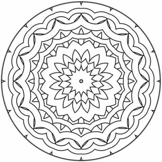 Imágenes de mandalas para imprimir | mandalas | Pinterest | Mandala ...