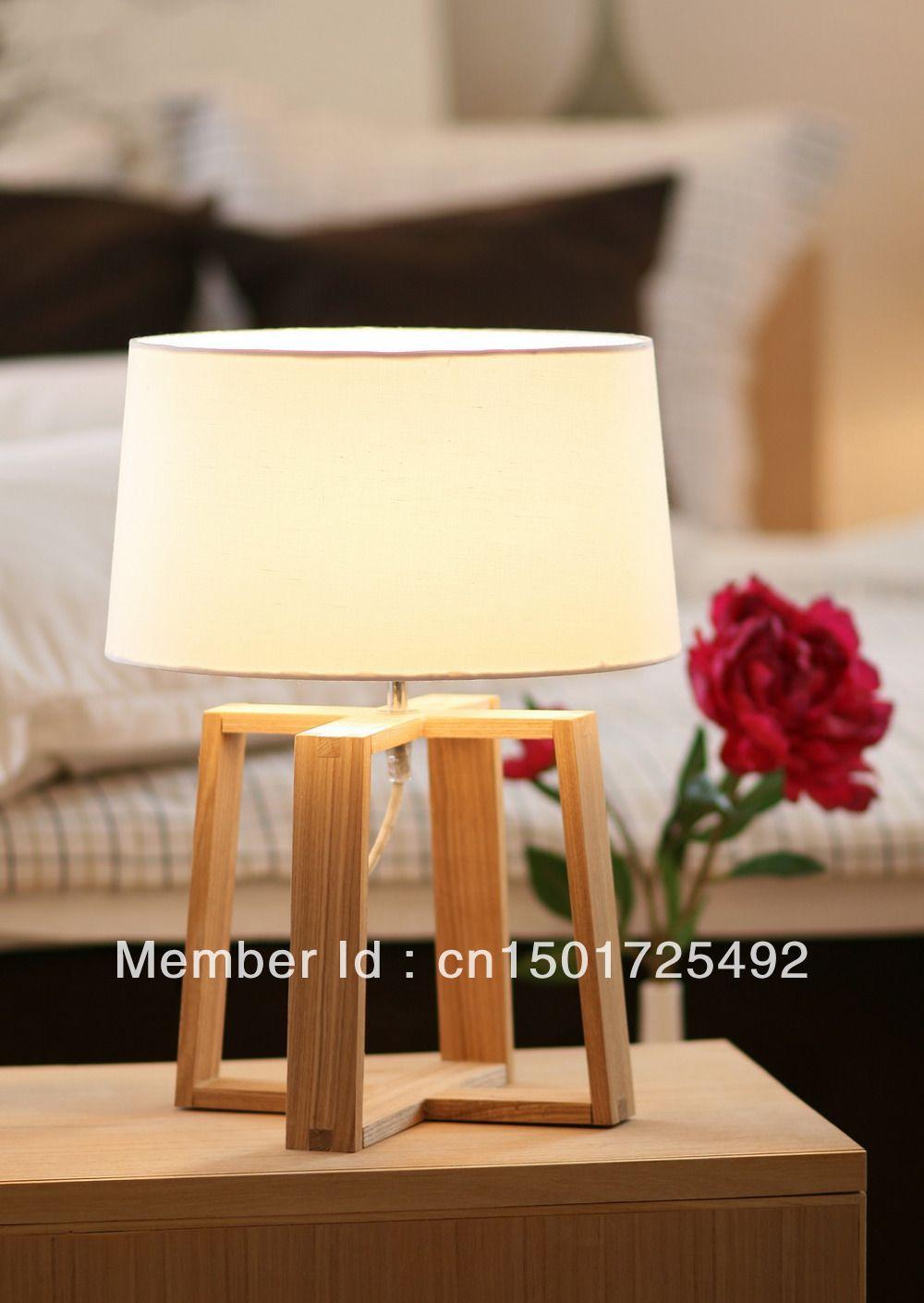 DIY WOODEN TABLE LAMP