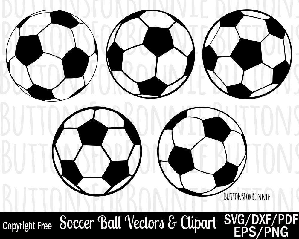 Soccer Ball Svg Soccer Ball Clipart Soccer Ball Vector Eps Etsy Soccer Ball Soccer Clip Art