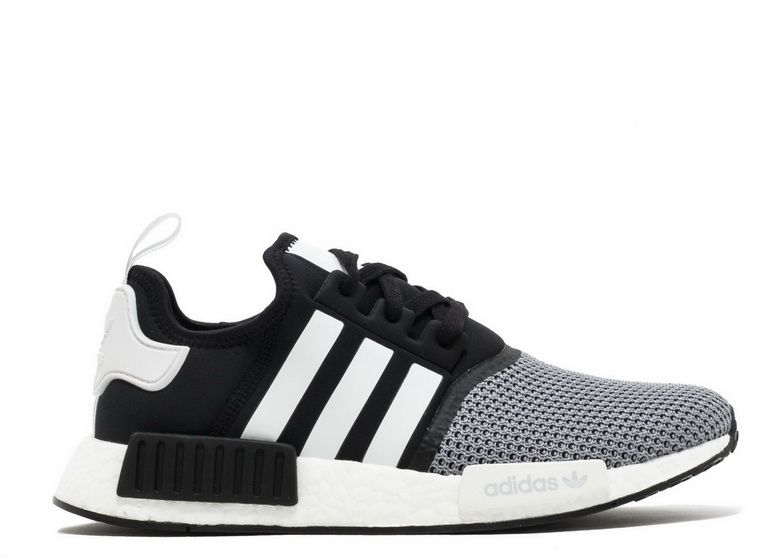 0b628603cd Adidas NMD R1 Jd Sports Black Grey White Bb6191 nike shoes men s casual Shoe