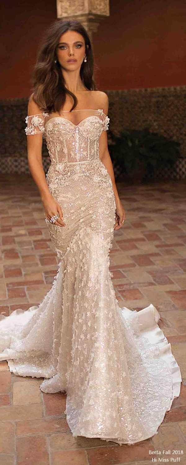 Berta fall wedding dresses natural hairstyles pinterest