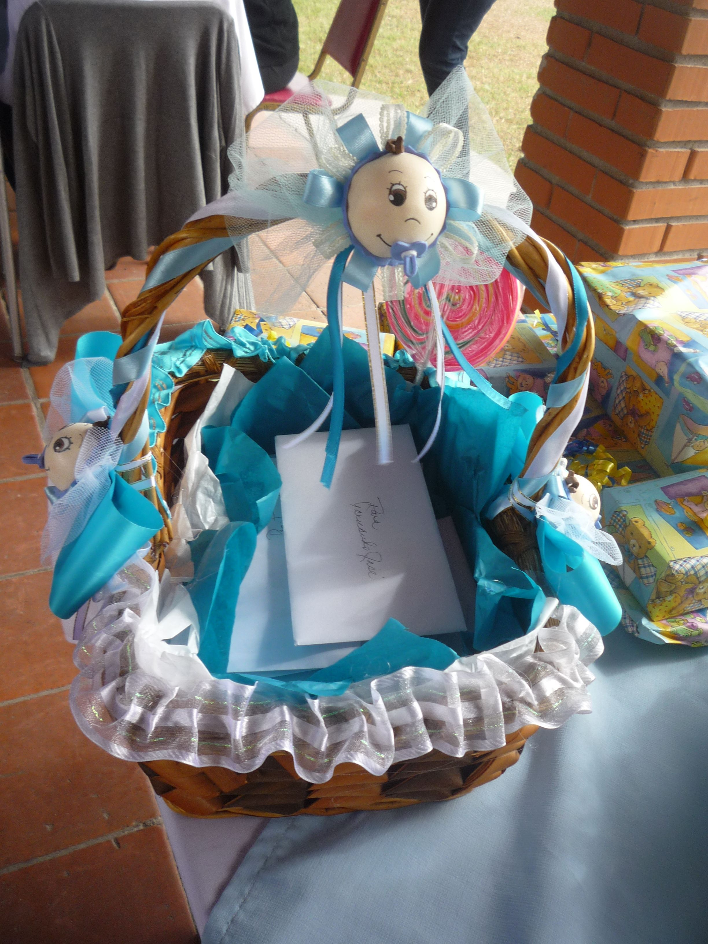 canasta para recuerdos de baby shower party ideas pinterest