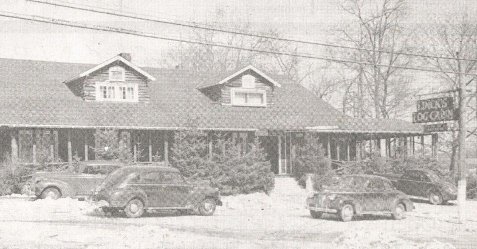Long Island · Links Log Cabin 1940s. Huntington NY