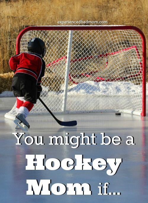 You Might Be A Hockey Mom If Hockey Mom Hockey Mom Quote Hockey Mom Humor