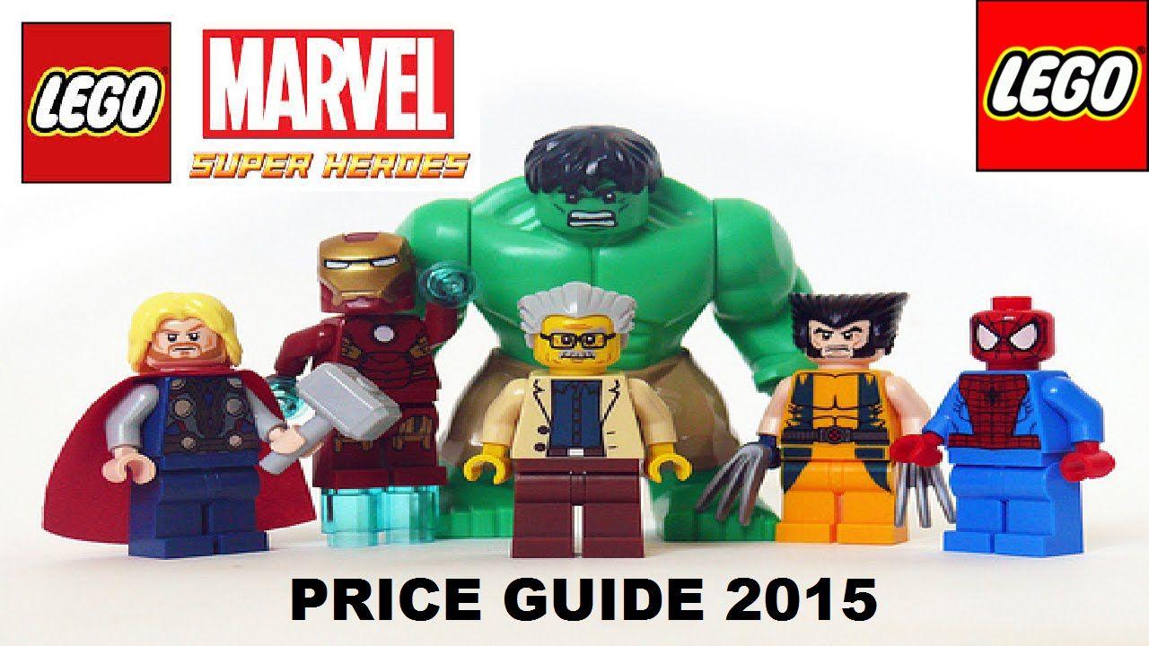 LEGO MARVEL AVENGERS & avengers assemble minifigure price guide 2015 ...