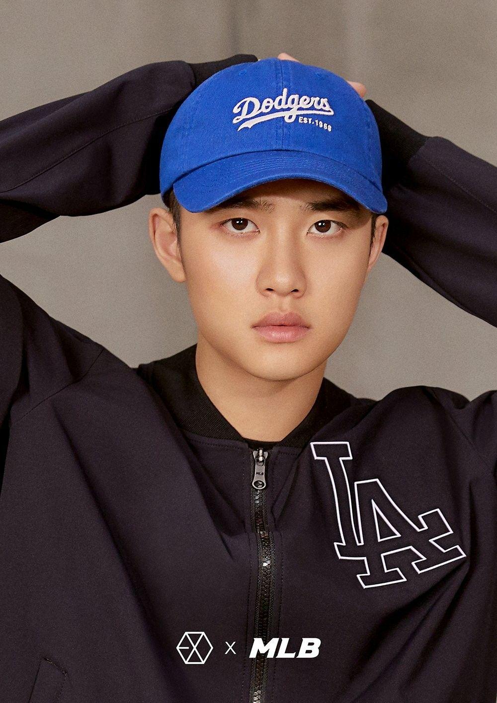 180313 Exo Do Mlb Official Website Mlb X Exo Sehun Exo Baekhyun