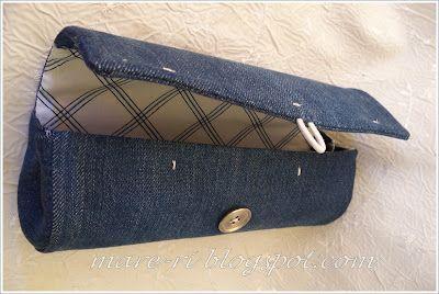wie man einzigartige Handtasche zu machen mit einer Plastikflasche und alte Jeans ......