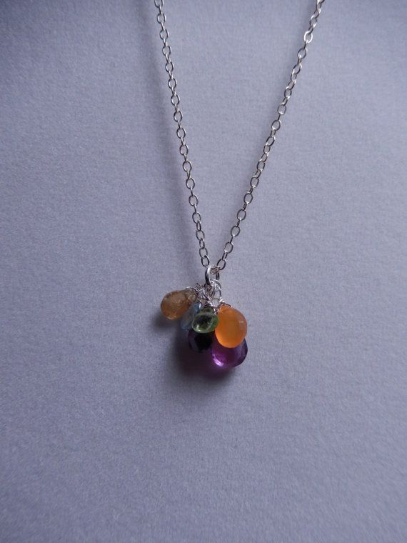 Chakra Necklace by TaraJeanDesigns on Etsy