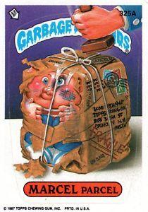 Pin By Amber Sims On Gpk Garbage Pail Kids Garbage Pail Kids Cards Pail