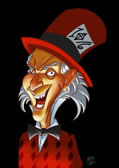 The Mad Hatta from Alice in Wonderland!