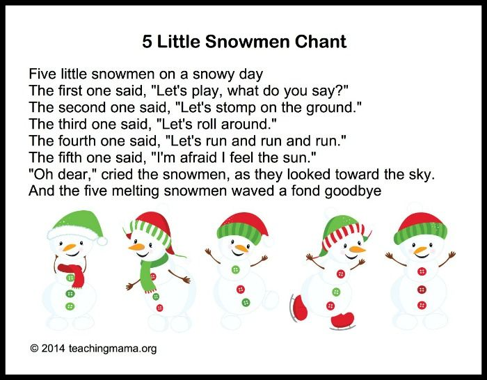 Winter Songs for Preschoolers | Preschool songs, Winter preschool, Winter  songs