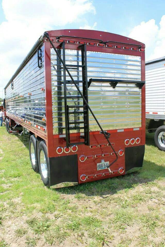 Nice Looking Hopper Bottom Cool Trucks Truck And Trailer Semi Trucks