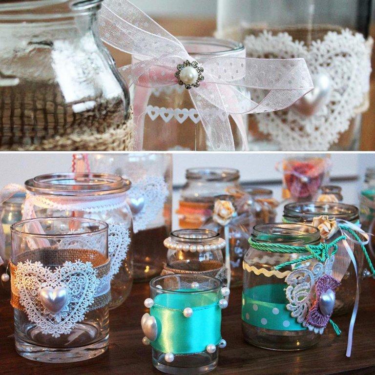 Diy Glas Deko 5 Tolle Ideen Fur S Glaser Dekorieren Glaser Dekorieren Dekorieren Deko Im Glas