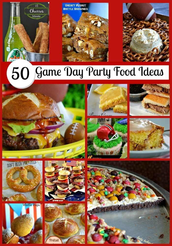 50 Game Day Party Food Ideas Community Game Day Recipes
