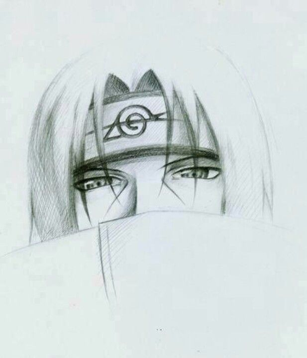 Itachi uchiha drawing this is so good