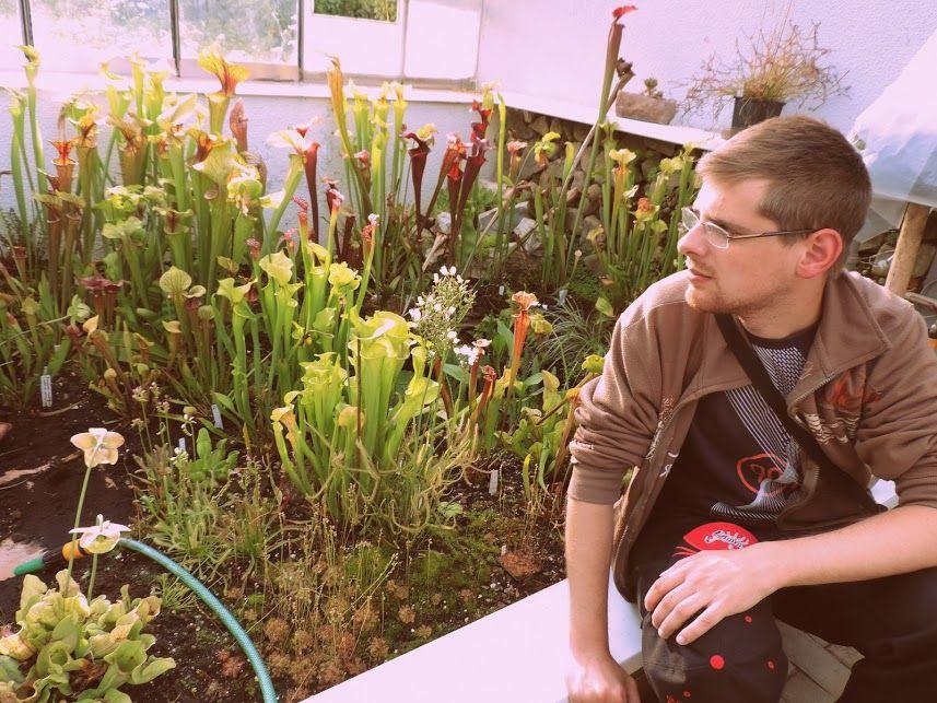 O autorovi - Moje mäsožravé rastliny