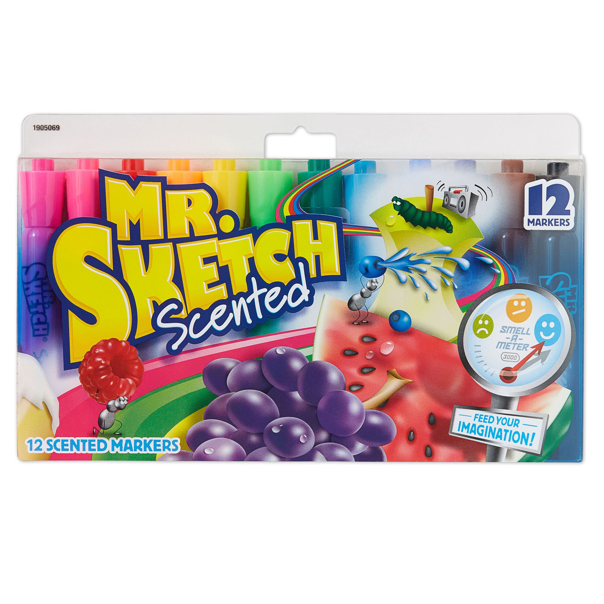 Mr. Sketch® Scented Markers, Chisel Tip, Assorted Colors